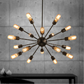 Mordern Nordic Retro pendant light Edison Bulb Lights fixtures lustre industriel iron Loft Antique DIY E27 Spider Ceiling Lamp