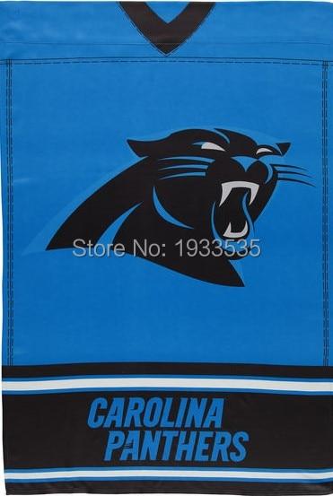Carolina Panthers Jersey Vertical Banner 3X5ft Garden House Flag