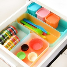 Multifunctional Plastic Drawers Organizer Box Kitchen Drawer Divider Storage Box For Tableware Sundries And Desk Accessories