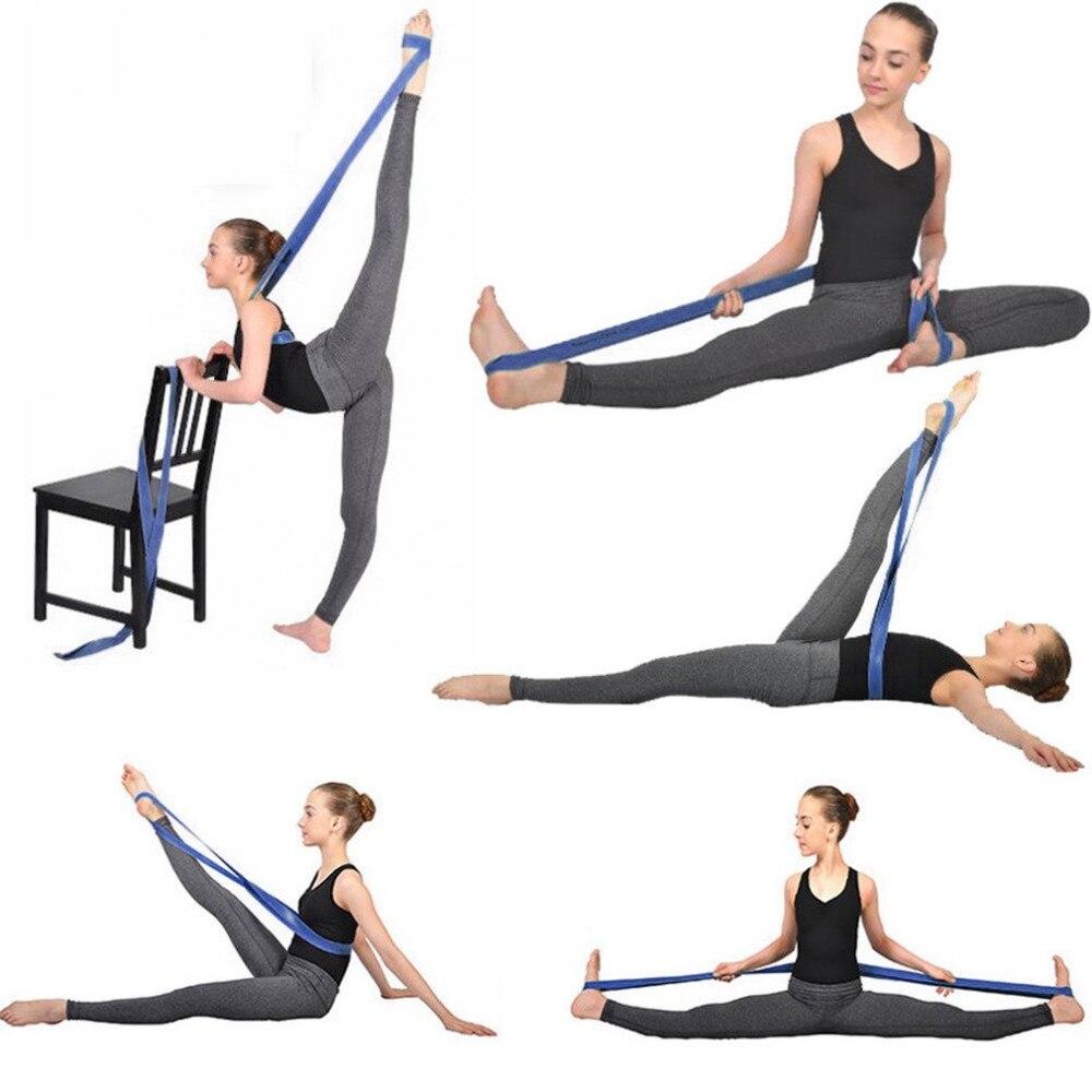 Non Slip Workout Bands: Non Slip Strechable Rubber Elastic Yoga Belt Band Pull