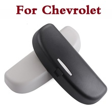 Auto accessories Car style glasses storage box case for Chevrolet SS Suburban Tahoe Tracker TrailBlazer Traverse Viva Volt