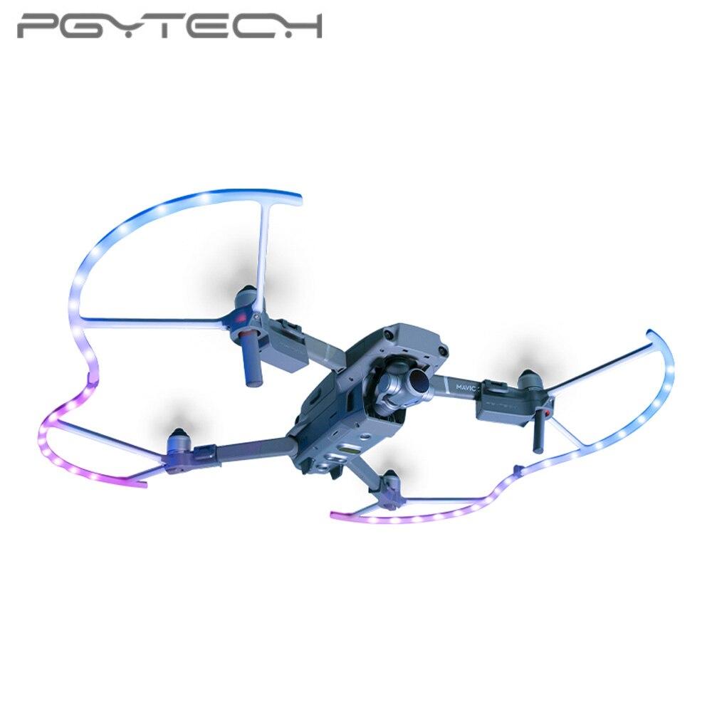 PGYTECH LED protection d'hélice pour DJI Mavic 2 protection d'hélice Drone Mavic 2 Pro Zoom accessoires
