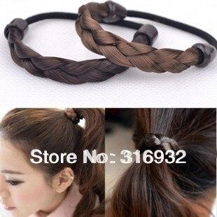 Wig headband twisted braid rope, hair accessory 20pcs/lot