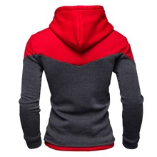 Hoodies Men 2017 Winter Male Sweatshirt Teenage Casual Cardigan Jacket Slim