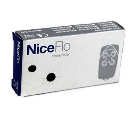 Wholesale 100pcs Garege Gate Door Opener Hand Remote Control NICE FLO2R-S 50pcs for nice flo2r s garage door remote control free shipping