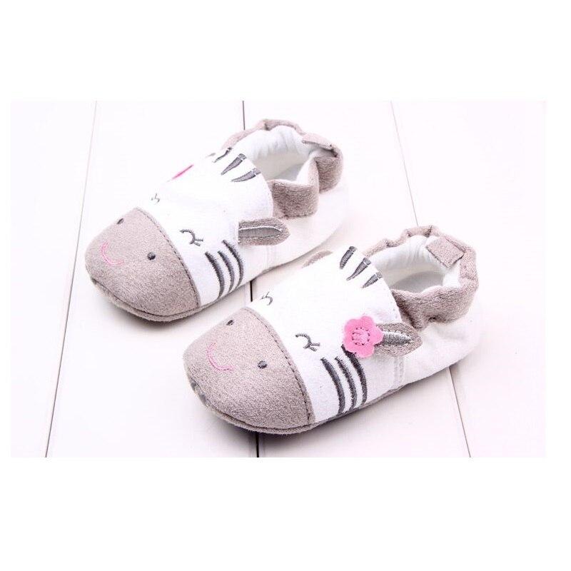 Hooyi хлопковая обувь для мальчика противоскользящие Чехлы для обуви из горного хрусталя, для детей ясельного возраста, для тех, кто только начинает ходить, для новорожденных; обувь для малышей, не начавших ходить носки для девочек - Цвет: 9