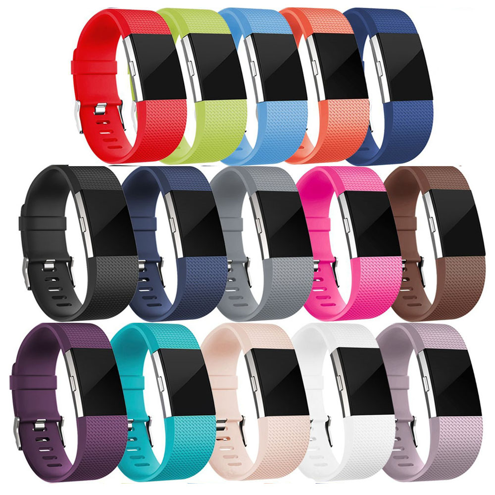 DUSZAKE Accessories For Fitbit Charge 2 Band Replacement