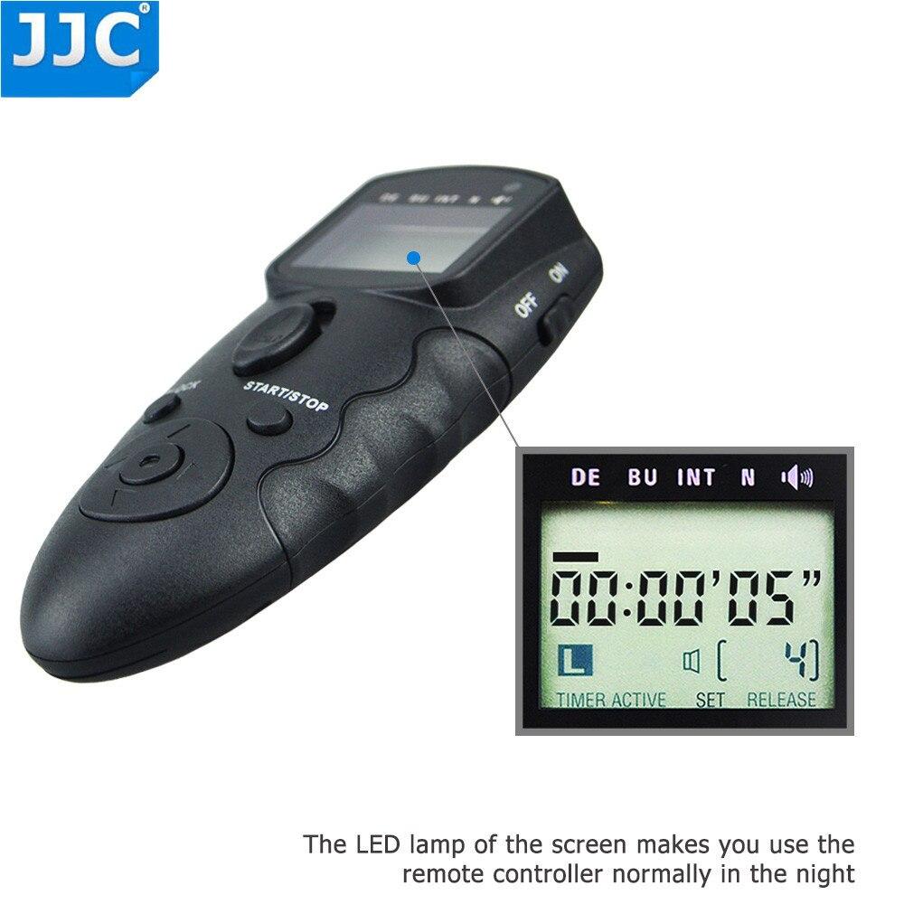 Control Remoto Temporizador LCD JJC infrarrojo para Olympus OM-E-M5 E-PL5 E-PL7 D E-M10 II