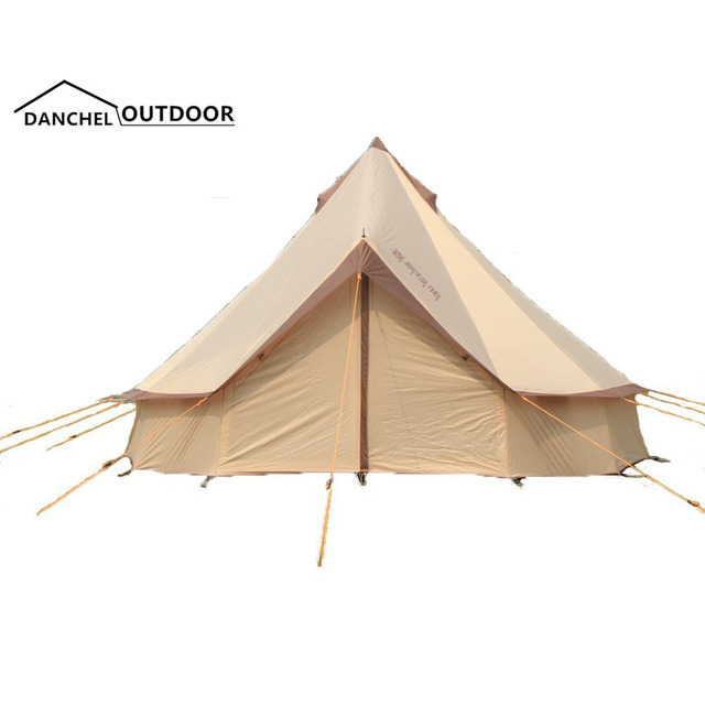 DANCHEL Outdoor Light Weight Waterproof Bell Tent for Family C&ing and Festival Tipi Tent  sc 1 st  AliExpress.com & DANCHEL Outdoor Light Weight Waterproof Bell Tent for Family ...