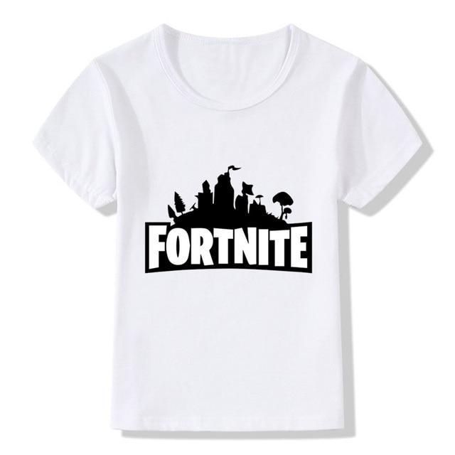 חולצת פורטנייט לילדים - משלוח חינם - 3-9 שנים 2