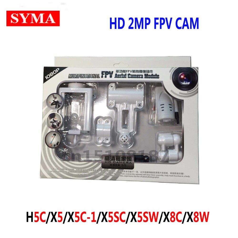 SYMA 100% original HD 2MP camera FPV+ phone holder + screwdriver parts H5C X5 X5C X5SC X5SW X8C X8W RC Helicopter Quadcopter syma x5 x5c x5c 1 explorers new version without camera transmitter bnf