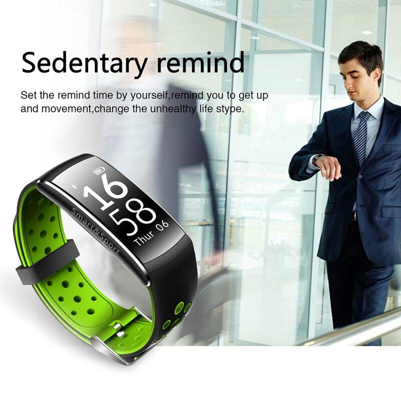 Q8 Smart Bracelet Monitor otkucaja srca Fitness Tracker Bluetooth - Pametna elektronika - Foto 6