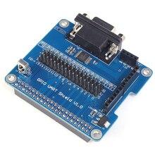 GPIO платы расширения UART последовательный Порты и разъёмы щит инфракрасный pcb w/Мощность индикатор для Raspberry Pi 3b/2b B +