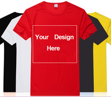 Customize Shirt Free Print Two sides Custom Logo Personalized tshirts DIY your text design here