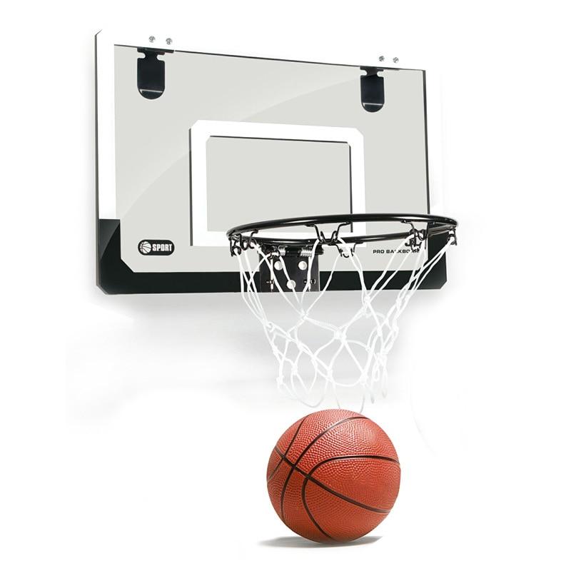 HOT SALE Mini Basketball Hoop With Ball 18 Inch X12 Inch Shatterproof Backboard