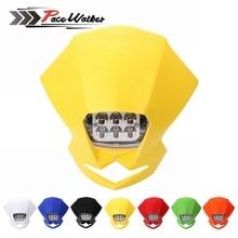 Универсальный Мотокросс светодиодный фары для автомобиля лампы Street Fighter эндуро KLX KDX для моделей ktm и rmz DRZ DR XR YZ CR