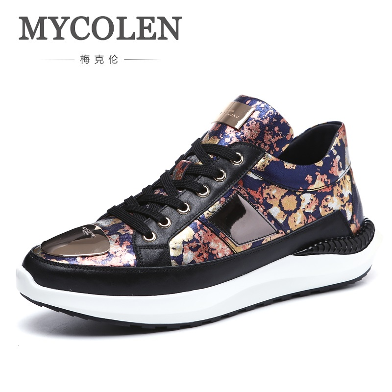 MYCOLEN 2018 The New Listing Men Casual Shoes Autumn Lace-Up Comfortable Style Waterproof Fashion Height Increase Man Shoes chilenxas 2017 spring autumn comfortable casual shoes canvas men leather breathable new fashion height increasing lace up solid