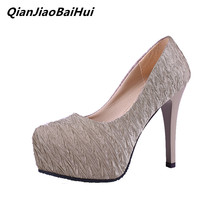 1ae0f5005d0 Wholesale price Women high heels black Beige Pumps 2019 Spring Summer Female  shoes Slip-on