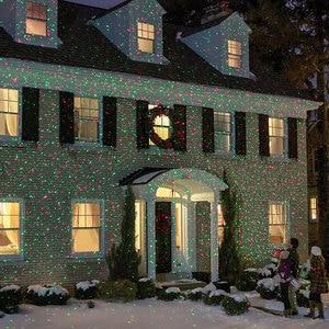 Image 2 - Mery Christmas เลเซอร์ไฟตกแต่งสำหรับกลางแจ้งวันหยุดใหม่ปีโปรเจคเตอร์ RF รีโมทคอนโทรล