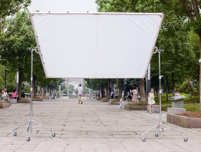 24x24m 8x8 8x8 Butterfly Frame Detachable Kit Photo Diffusion