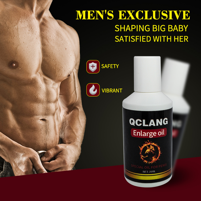 Hot Xxl Enlarge Massage Oil Thickening Growth Big Dick Increase Cock Enlargement For Man Erection Cream Essential Oil