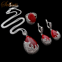Sellsets Fashion Jewellery New Design High Quality Vintage Silver Color Turkish Jewelry Set Wholesale