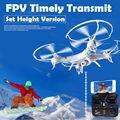 Двойной Режим Управления FPV Quadcopter 4 Канала Вертолет Дрон Дистанционного Управления Aviao HD 200 Вт Камеры RC Беспилотный Профессиональный Игрушки 898