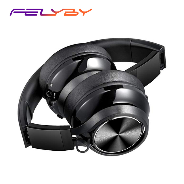 FELYBY Wireless Bluetooth headset 4.1 gaming with microphone outdoor sports music headphones for phone foldable headphones