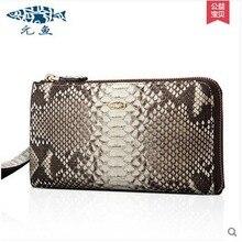 yuanyu 2017 new scorching free transport precise python leather-based purse women bag girl dinner female bag eisure high-capacity women purse