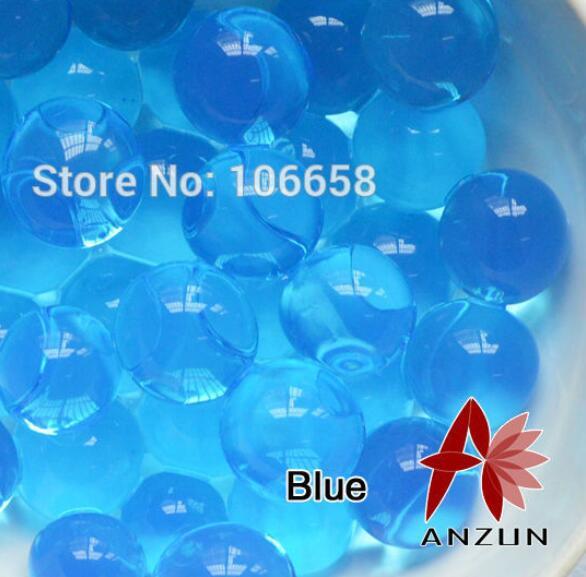 1200 шт почва из гидрогеля прозрачный цветок растения вода питательный Биогель почва семья украшение - Цвет: No 11 Blue