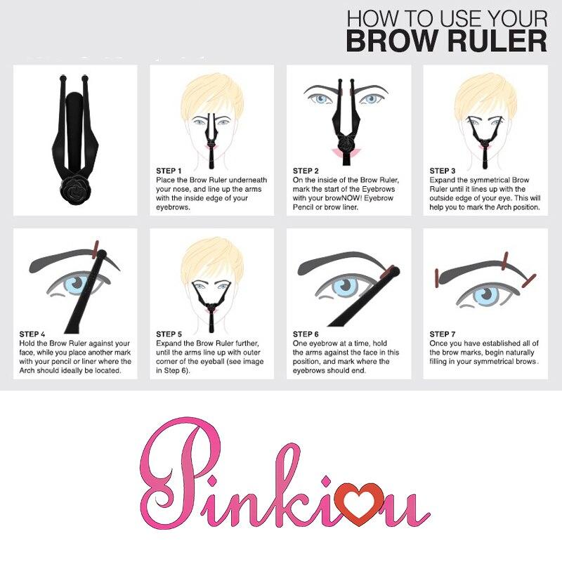 1pcs Microblading Eyebrow Template Ruler Permanent Makeup Eyebrow