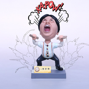 Image 3 - 7pcs NEW Coreano Spettacolo di Varietà Infinita Sfida Super Star Action Figure Da Collezione Giocattoli Mascotte
