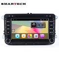 VW RSN510 2Din Android 6.0 Car Radio Stereo 7 de Polegada HD 1024*600 Da Tela Quad Core GPS Carro DVD Para EOS Passat b6 Golf 5 Polo Jetta