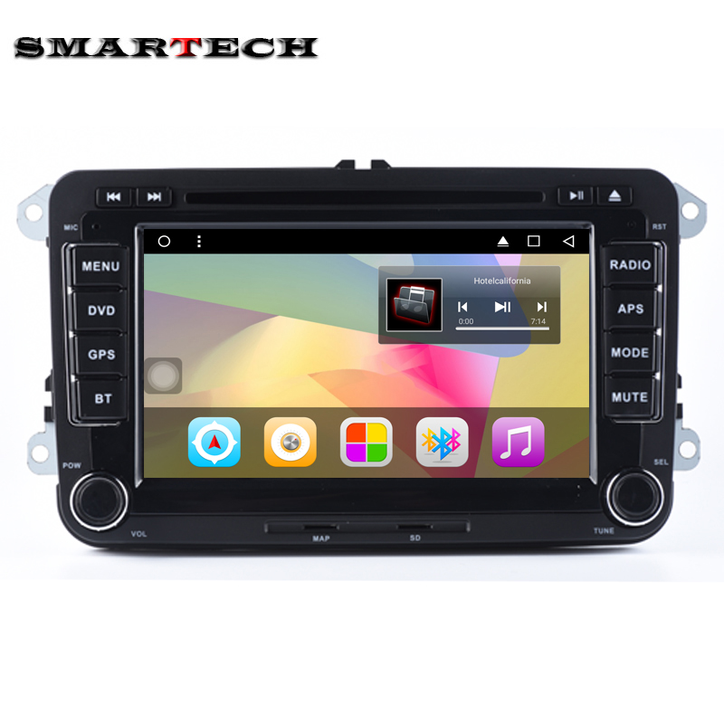 VW RSN510 2Din Android 6 0 Car Stereo Radio 7 Inch HD 1024 600 Screen Quad