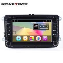 VW RSN510 2Din Android 6.0 стерео Радио 7 дюймов HD 1024*600 Экран 4 ядра автомобильный DVD GPS для EOS Passat B6 Гольф 5 Мужские поло jetta