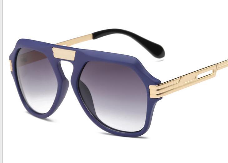 R21 Piloto Da Marca New Vintage moldura quadrada óculos de sol masculino  óculos de sol dos homens de luxo de marcas famosas quadro uv400 lunette de  soleil ae695f4ea5