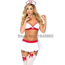 Wholesale latex nurse costume