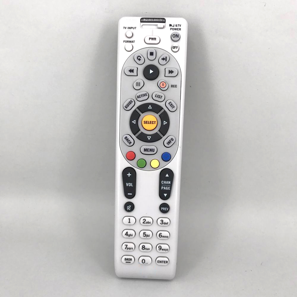 Used Universal For DirecTv RC65 RC65X RC65RX Satellite Receiver RF Remote Control H21 H21NC HR20 HR21 R22NC RC64 Fernbedienung 3d42738i tv remote receiver receives board juc7 820 00047872 used disassemble