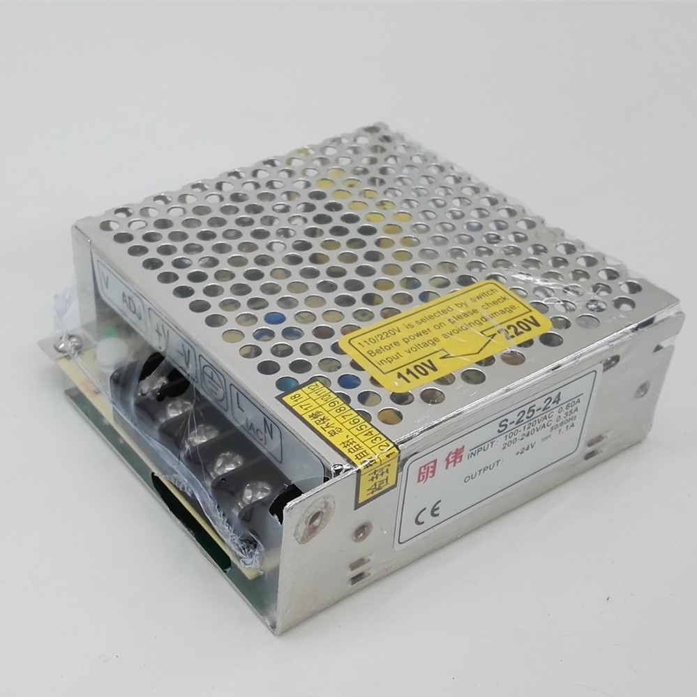 Watts de Alimentação MW S-25W24V1.1A Interruptor Unidade 110 220 V de Entrada AC