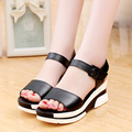 Women shoes sandals 2016 New Arrivals fashion style Summer Wedges women sandals