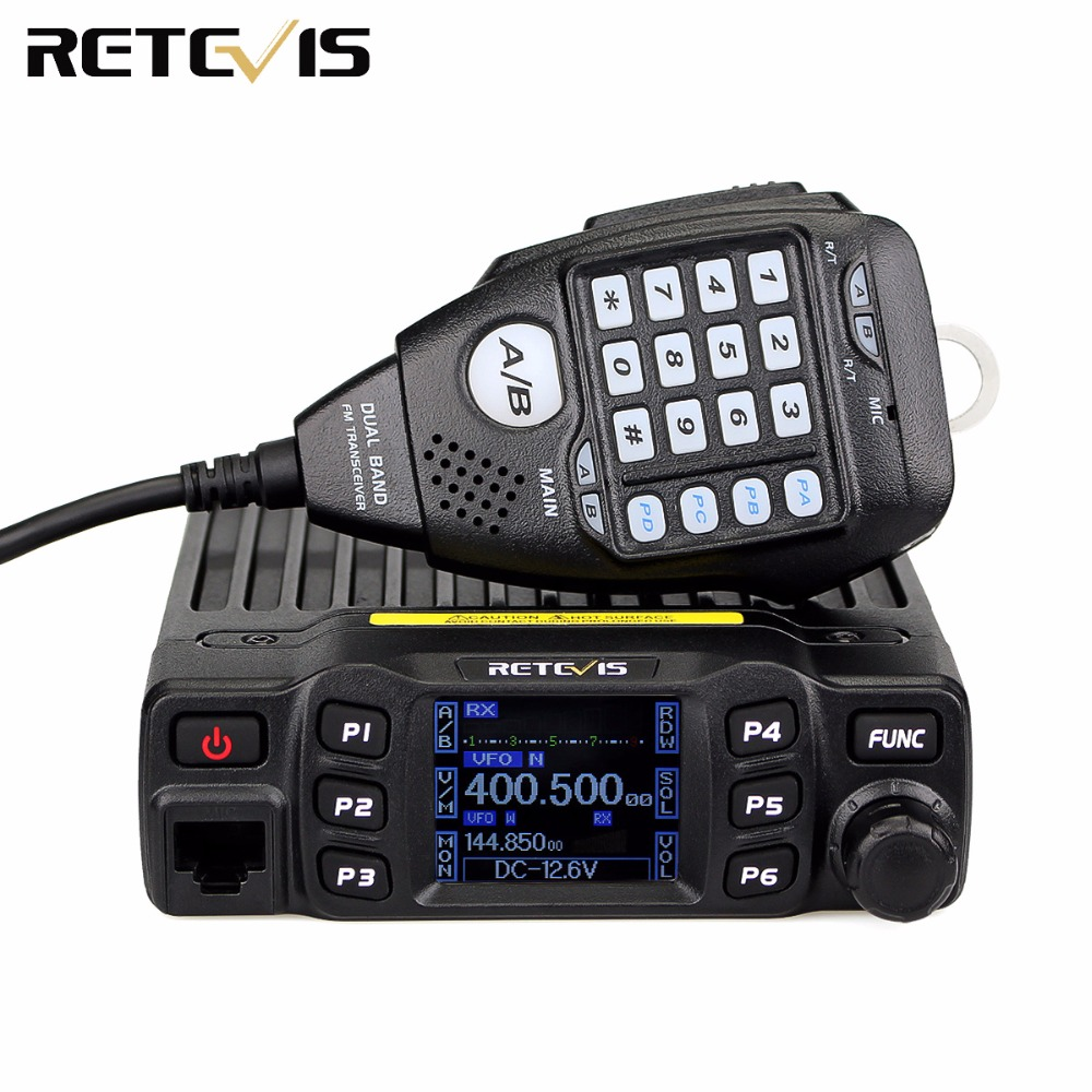 Retevis RT95 Mobile Car Two Way Radio Station Dual Band VHF UHF Amateur Ham Radio Transceiver