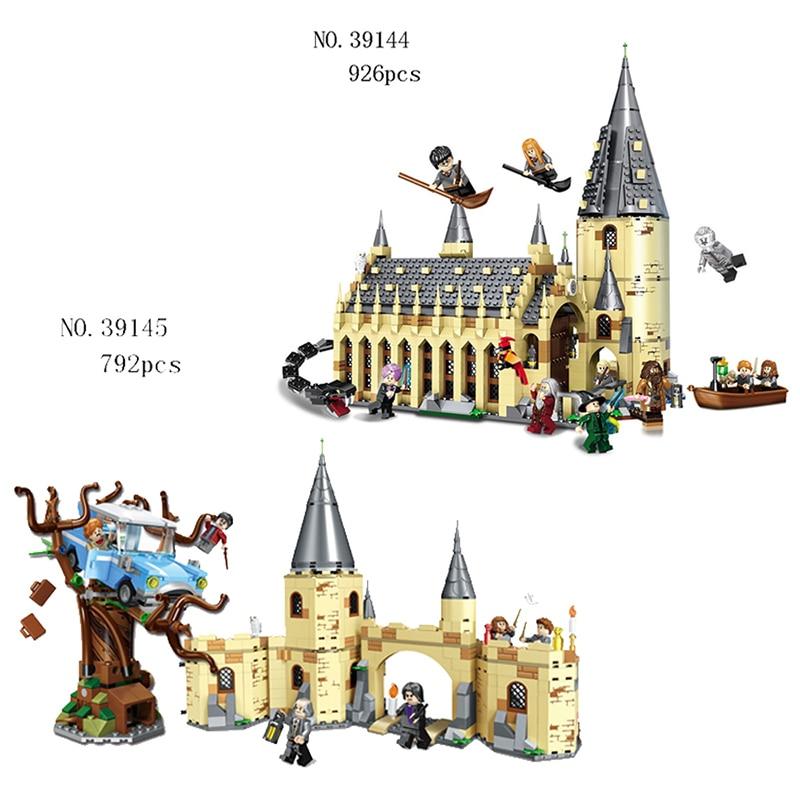 Compatible Avec Légèreté Harry Potter Serices blocs De Construction Poudlard Grande Salle Modèle Éducatif Jouets Pour Enfants Cadeaux d'anniversaire