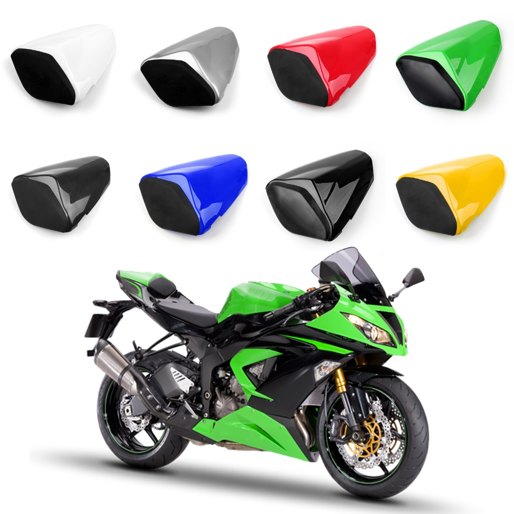 Areyourshop Motorcycle ABS Plastic Rear Seat Cover Cowl For Kawasaki ZX6R ZX 636 2009-2014 New Arrival Motorbike Part