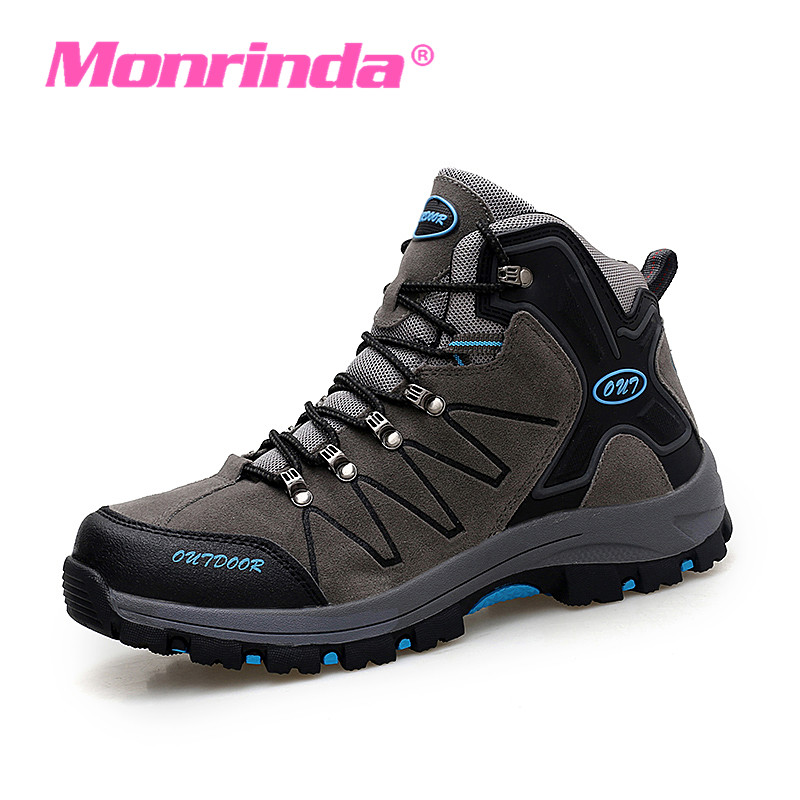 High Ankle Waterproof Men Sneaker Walking Shoes Camping Outdoor Sport Shoes Male Height Increasing Green Man Sneakers Size 44
