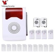 YobangSecurity Wi-fi Loudly Talking Voice Anti-Theft Alarm System Residence Safety Alarm System Door Detector PIR Alarm Sensor