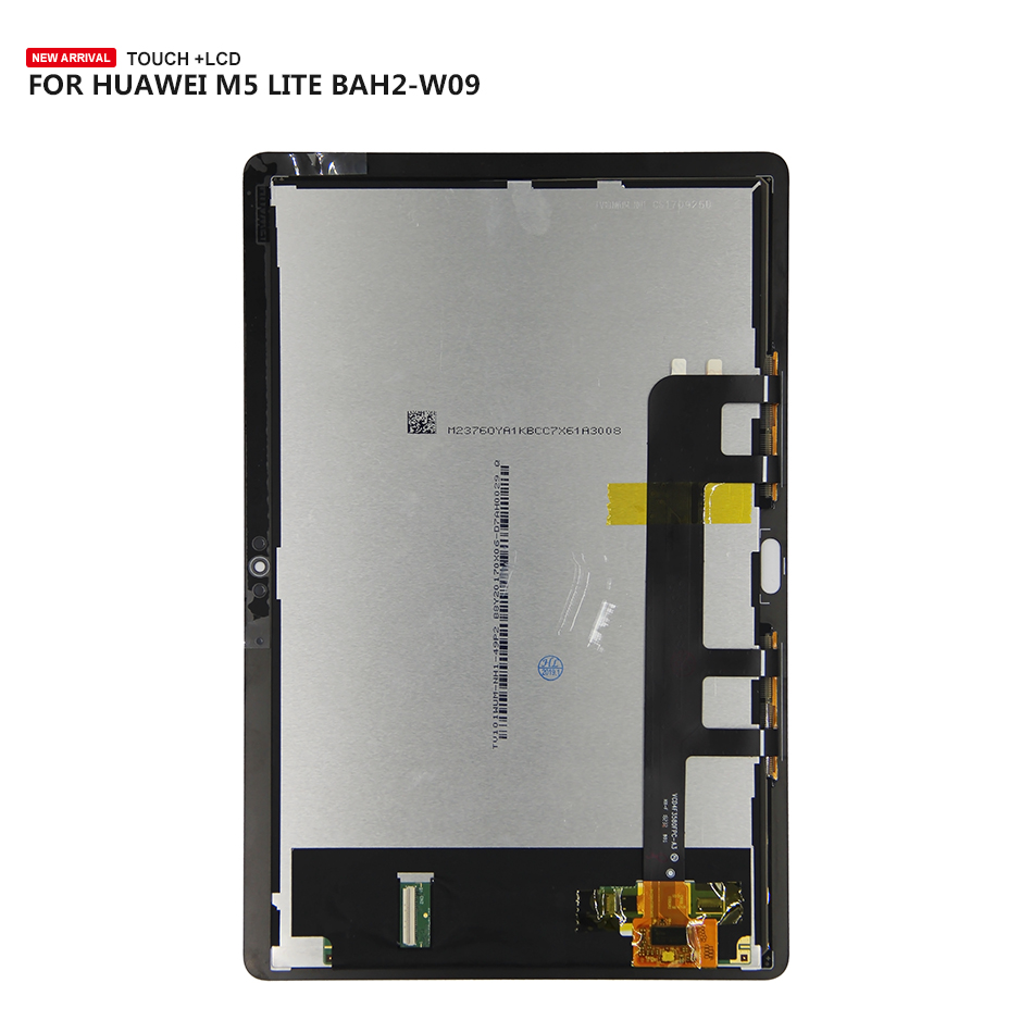 Free Tools For 10.1 Huawei MediaPad M5 Lite LTE 10 BAH2-L09 BAH2-L09C Bach2-L09C Touch Screen Digitizer Lcd Display AssemblyFree Tools For 10.1 Huawei MediaPad M5 Lite LTE 10 BAH2-L09 BAH2-L09C Bach2-L09C Touch Screen Digitizer Lcd Display Assembly
