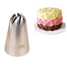 1Pcs #336 piping nozzles Large Size Stainless steel Pastry Nozzles Cake Cream Decoration Head Bakery Pastry Tips