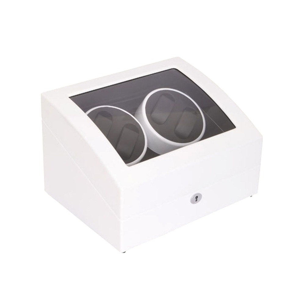 Watch Winder, LT Wooden Automatic Rotation 4 + 6 Watch Winder Storage - Tilbehør til ure - Foto 3