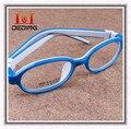 Crianças de óculos TR90 quadro hipermetropia ambliopia miopia óculos de Silicone ultraleve Superelastic caixilhos DD0269-1