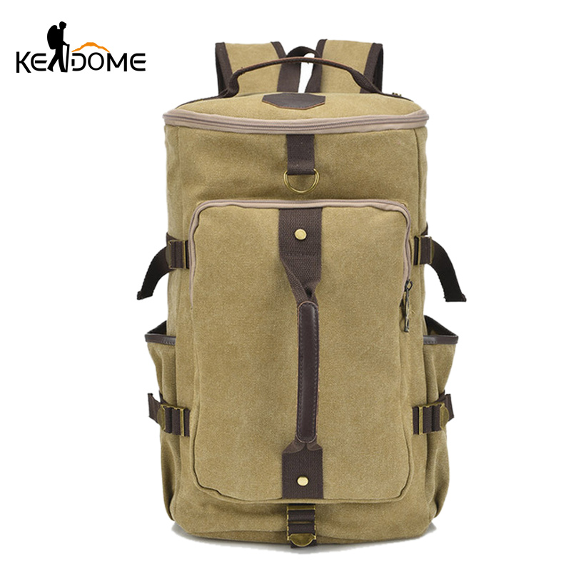 Quality Canvas Sports Backpack  Men Outdoor Mountaineering Bag Climbing Hiking Travel Backpacks Luggage Rucksack Mochila XA143WD motorcycle tank bag sports helmet racing motobike backpack magnet luggage travel bag water resistance